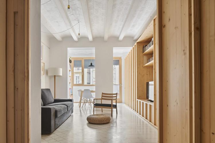 Huguet Apartment / TEd'A arquitectes, © José Hevia