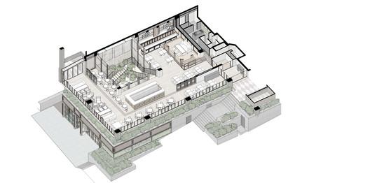 2nd floor axonometric