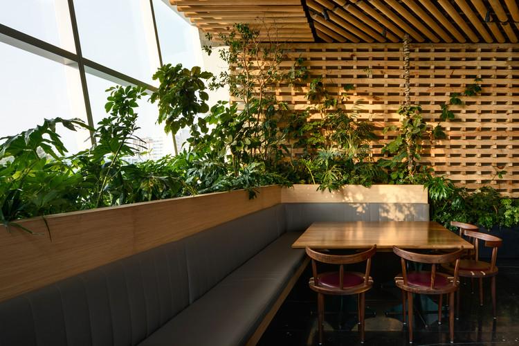 JM Japanese Restaurant / LEGORRETA + SEPULVEDA & BLANCASMORAN, © Rafael Gamo