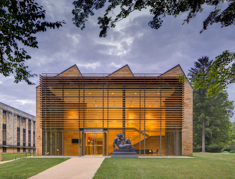 Gund Gallery at Kenyon College / GUND Partnership, © Brad Feinknopf