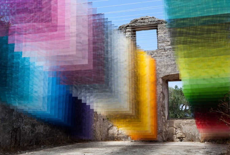 8 Vibrant Installations by Quintessenz Create Stunning Spaces of Color, Kagkatikas Secret. Image Courtesy of Quintessenz