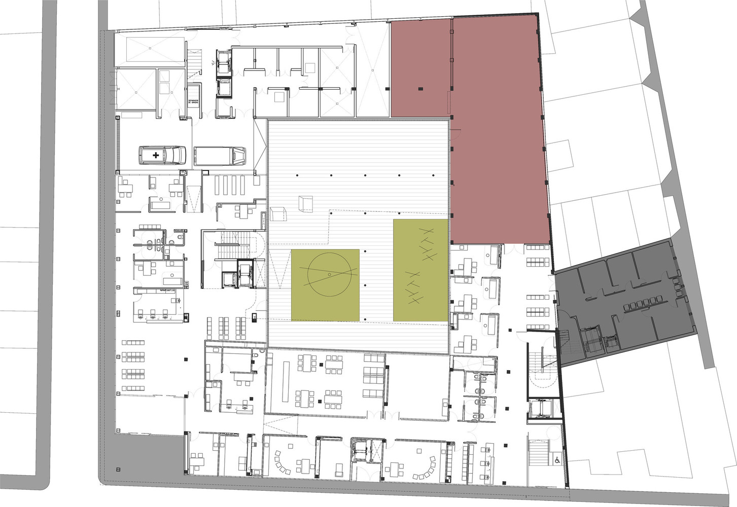 Gallery Of Hospitals And Health Centers 50 Floor Plan Examples 47