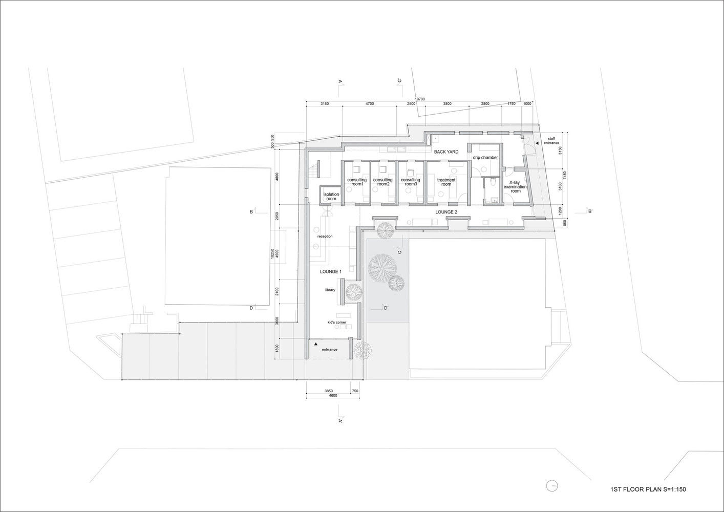 Gallery Of Hospitals And Health Centers 50 Floor Plan Examples 43