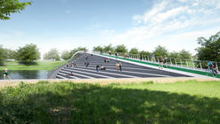 KILD Wins Competition for Kaunas Pedestrian and Cyclist Bridge in Lithuania