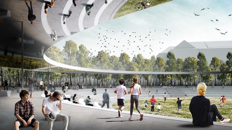 Superspace propõe a Praça da Vitória de Praga como um centro social, Courtesy of Superspace