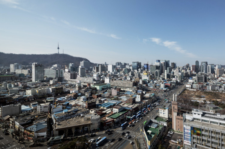 Reinventing a Superblock in Central Seoul - Without the Gentrification, Courtesy Kyoung Roh, via Metropolis Magazine