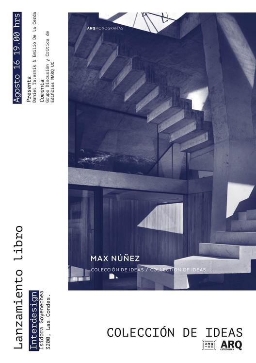Lanzamiento del libro ''Max Nuñez Arquitectos'', Rocio Camacho