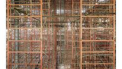 Fernando Alda explora la construcción de un rascacielos en su más reciente ensayo fotográfico