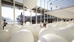 Snarkitecture's BOUNCE Offers A Surreal Playground to Hong Kong's Waterfront