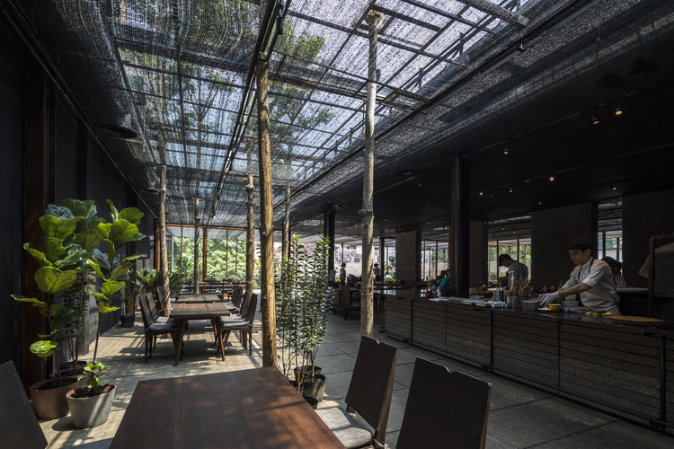 Restaurant of Shade / NISHIZAWAARCHITECTS, © Hiroyuki Oki