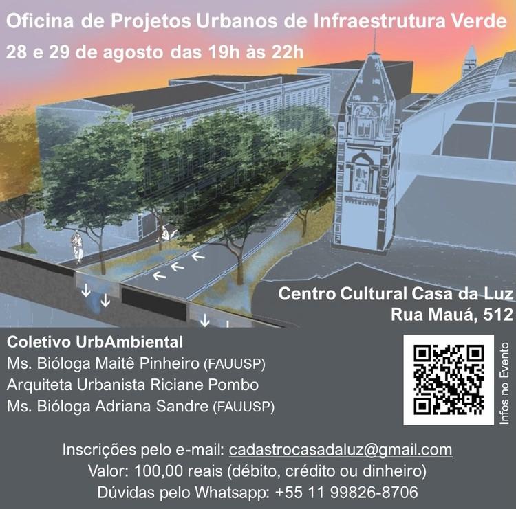 Oficina de Projetos Urbanos de Infraestrutura Verde, Oficina de Projetos Urbanos de Infraestrutura Verde. Coletivo UrbAmbiental - Arte Adriana Sandre