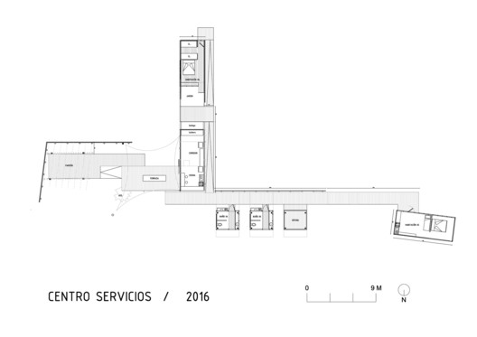 Center of services Plan