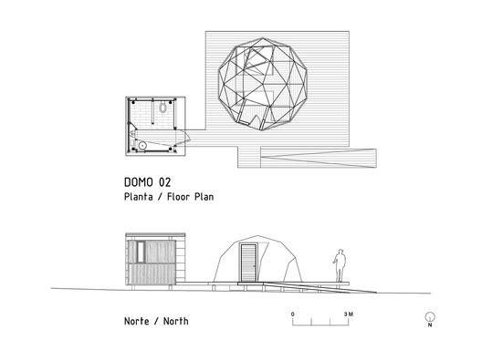 Domo Plan and elevation