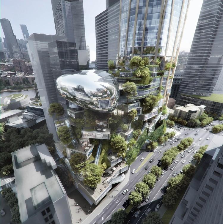 UNStudio Named Winner of Landmark Melbourne Skyscraper Competition