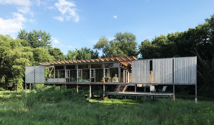 Cabaña de vidrio / atelierRISTING, © Steven & Carol Risting