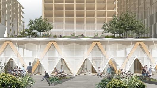Quayside. Image Courtesy of Sidewalk Labs