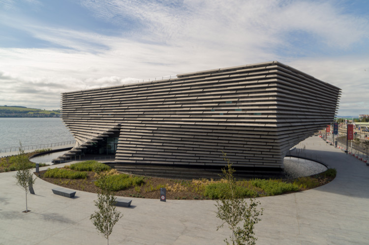 A First Look at Kengo Kuma's New V&A Dundee, © Rapid Visual Media