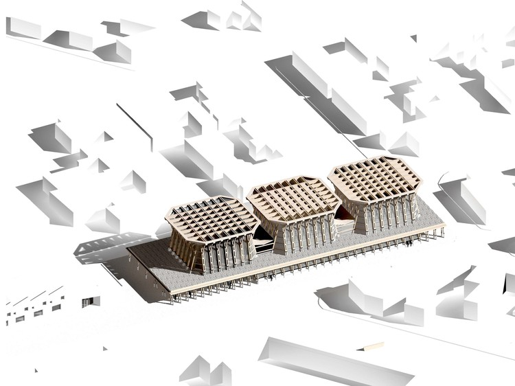 Sebastián Irarrázaval revela diseño del Teatro Mataquito en Chile, Cortesía de Sebastián Irarrázaval