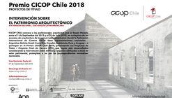Premio CICOP Chile 2018