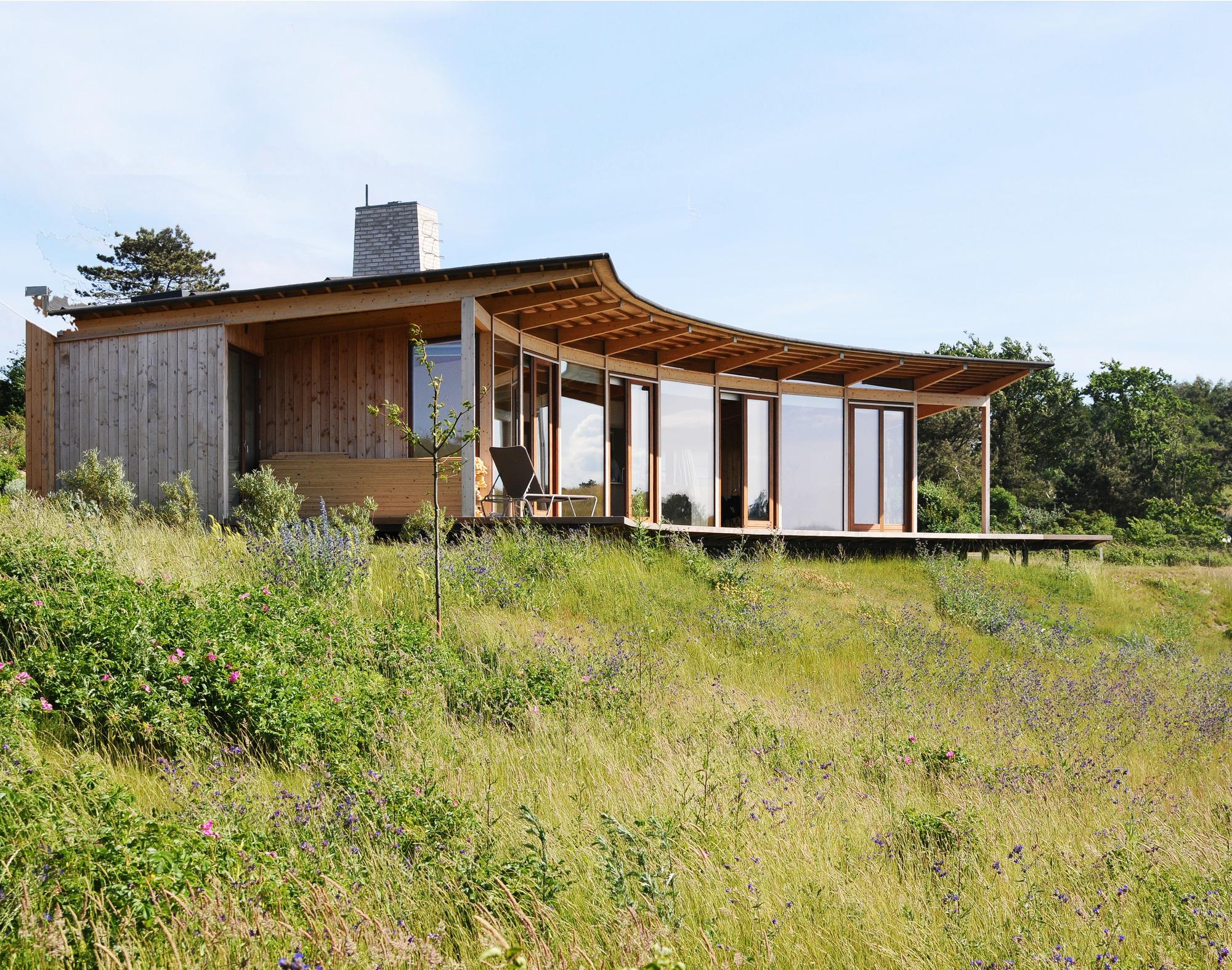 Casa de Férias Havblik / Mette Lange Architects