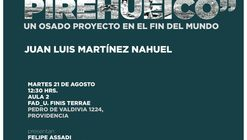 """Presentación libro """"Hotel Pirehueico, un osado proyecto en el fin del mundo"""""""