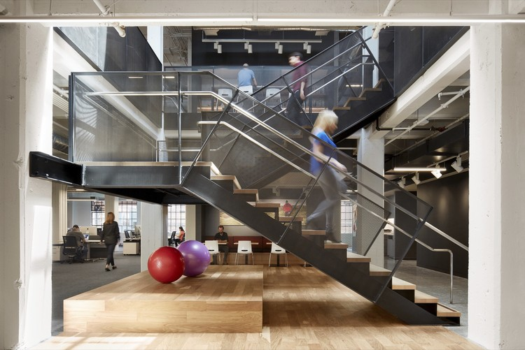 Under Armour Connected Fitness / Bohlin Cywinski Jackson, © Matthew Millman