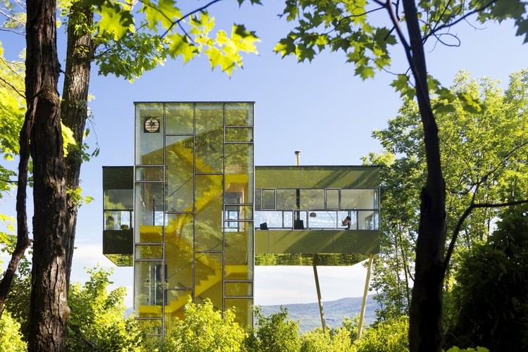 9 arquitectos que diseñaron para sí mismos, The Tower House / Gluck+. Image © Paul Warchol