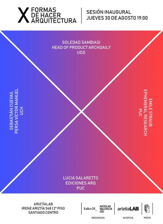 XFORMAS explora y visibiliza las más diversas prácticas de arquitectura en nuevo ciclo de encuentros en Santiago