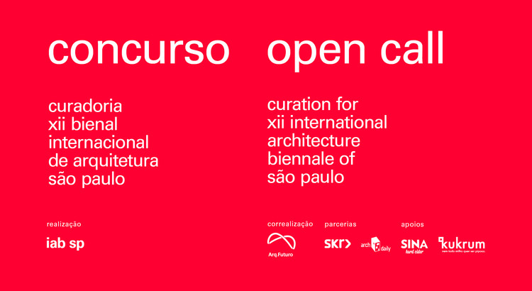 IABsp Launches OPEN CALL for Curation for XII International Architecture Biennale of São Paulo, Cortesia de IABsp