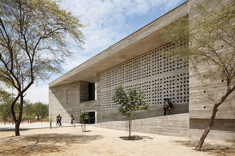 UDEP Lecture Building / Barclay & Crousse, © Cristobal Palma / Estudio Palma