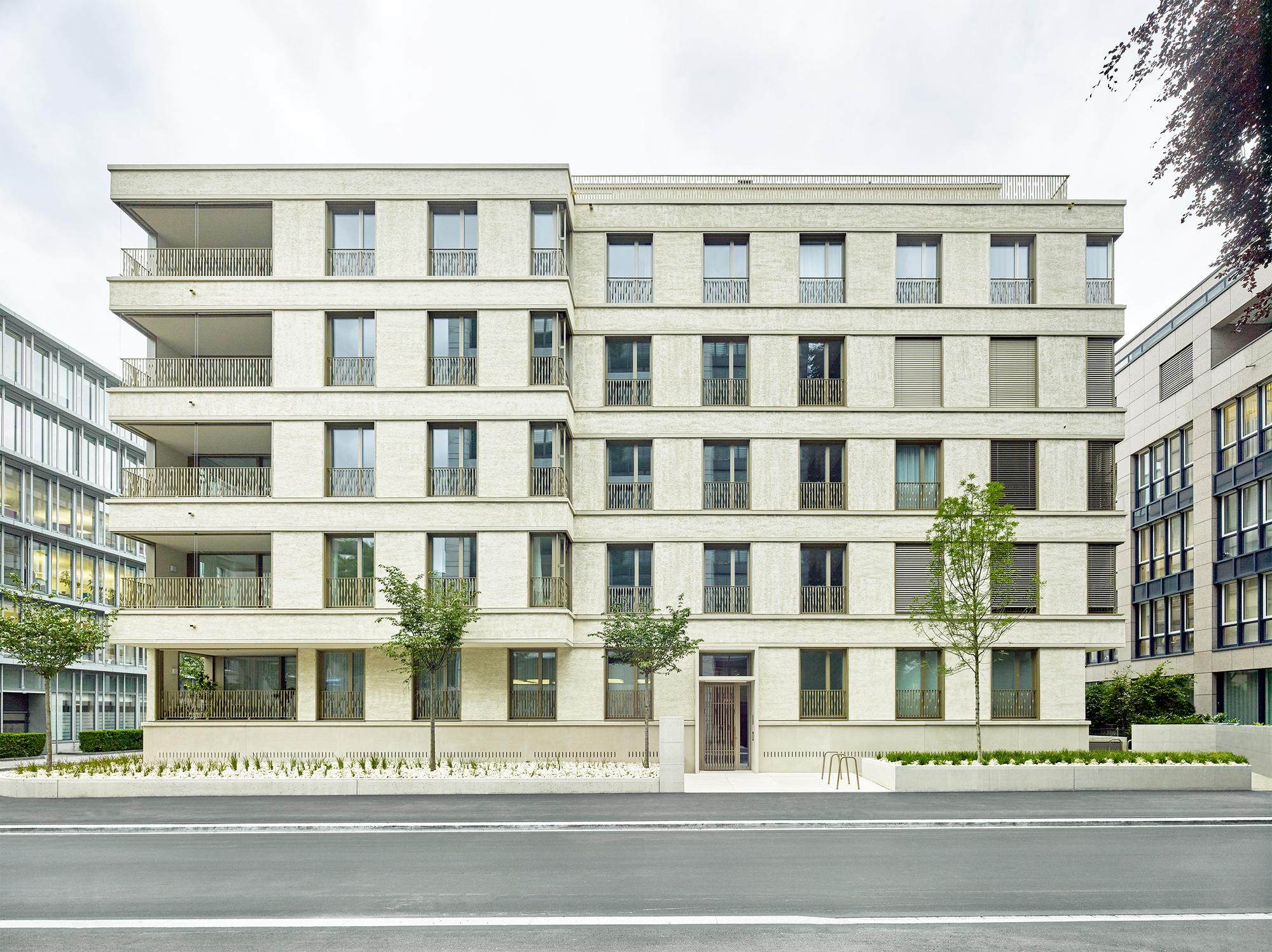 Apartment Building Tödistrasse Zürich / ADP Architects