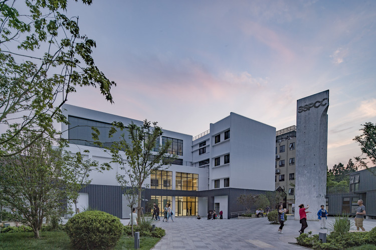 SPII Office / YLA, Exterior View. Image © Chunfeng Li