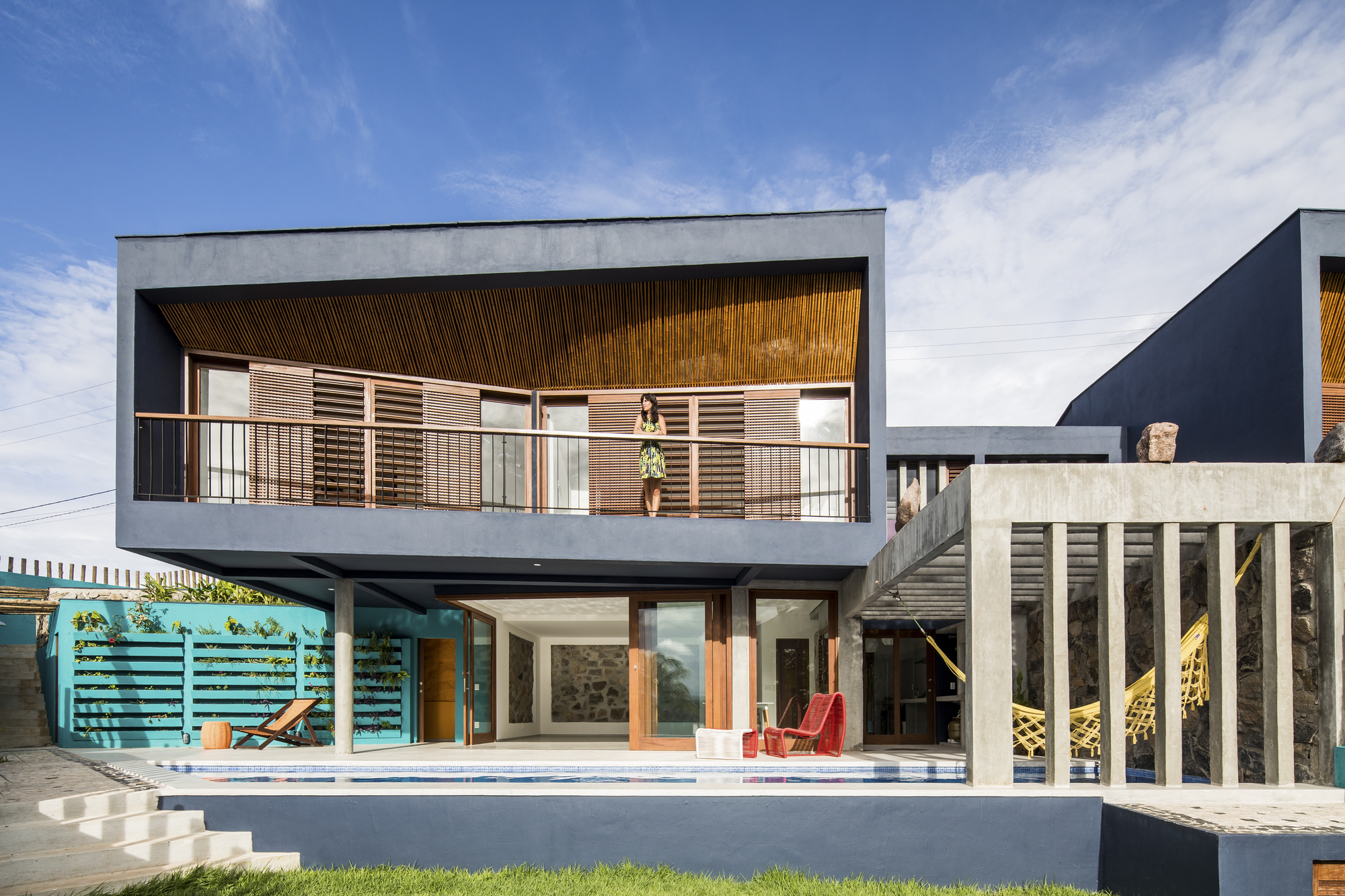 Sunset Houses / Vilela Florez