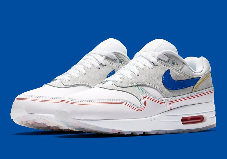 Nike Unveils Air Max Edition Inspired by the Centre Pompidou, © Nike via Sneaker News