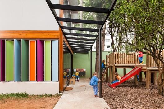 School in Alto de Pinheiros / Base Urbana + Pessoa Arquitetos. Image © Pedro Vannucchi