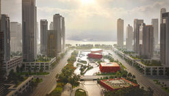 Powerhouse and Benthem Crouwel Propose Sponge-Inspired Athlete Village for 2022 Asian Games