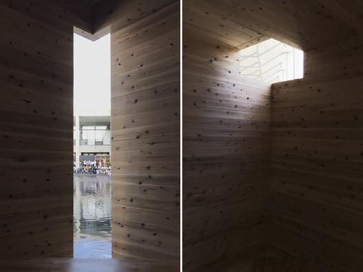 Inside Corner. Image Courtesy of C+ Architects