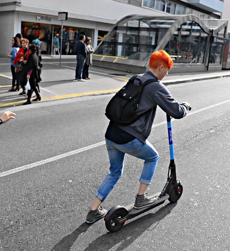 São Paulo terá serviços de patinete elétrico compartilhado, Cortesia de Ride