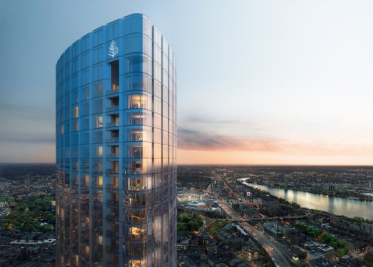 Boston S Tallest Residential Tower Tops Out Designed By