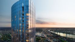 Boston's Tallest Residential Tower Tops Out, Designed by Pei Cobb Freed