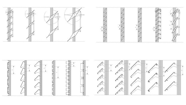 Brises: detalhes construtivos e aplicação prática, Cortesía de Gradhermetic