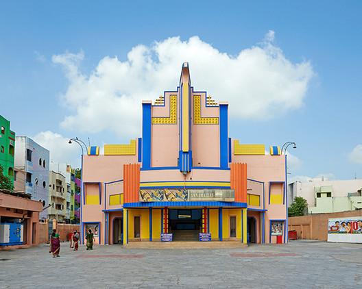 Stefanie Zoche registra el deslumbrante mundo de los cines en el sur de India, © Stefanie Zoche