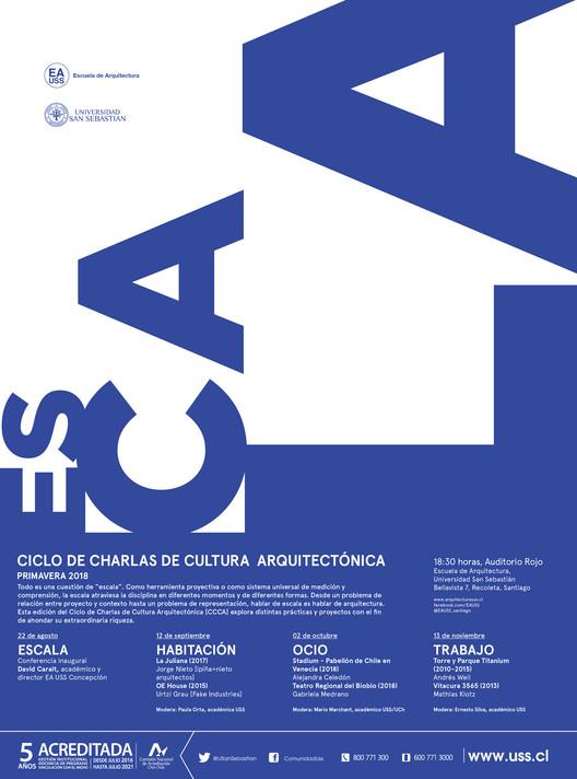 Ciclo de Charlas de Cultura Arquitectónica USS | Primavera 2018 | ESCALA