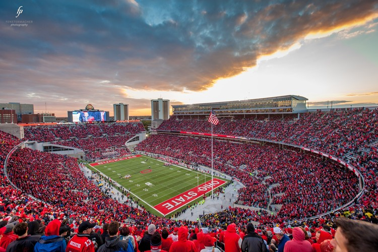 4. Ohio Stadium / Columbus OH, USA. Image courtesy of flickr user fensterbme. Licensed under CC BY-NC-ND 2.0