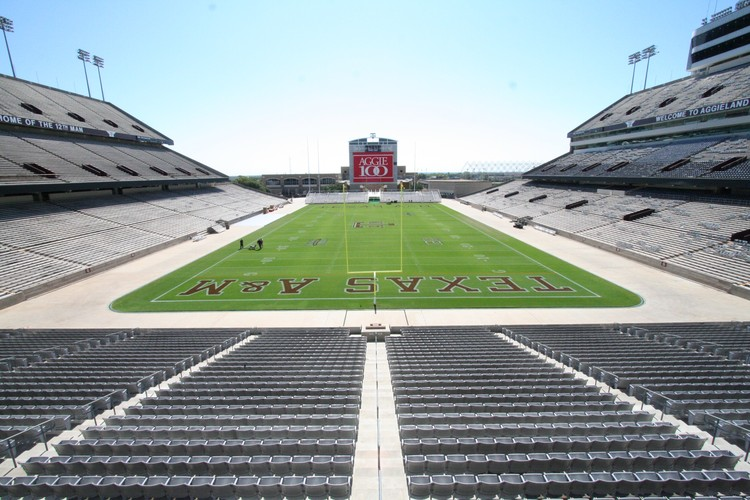 5. Kyle Field / College Station, Texas, USA. Image courtesy of flickr user eschipul. Licensed under CC BY-SA 2.0