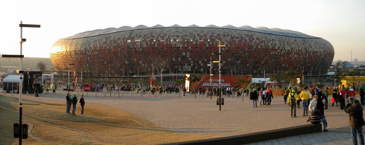 12. Soccer City / Johannesburg, South Africa. Image courtesy of flickr user kartaba. Licensed under CC BY-NC-ND 2.0
