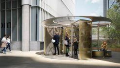 Snøhetta projeta biblioteca móvel para o London Design Festival de 2018