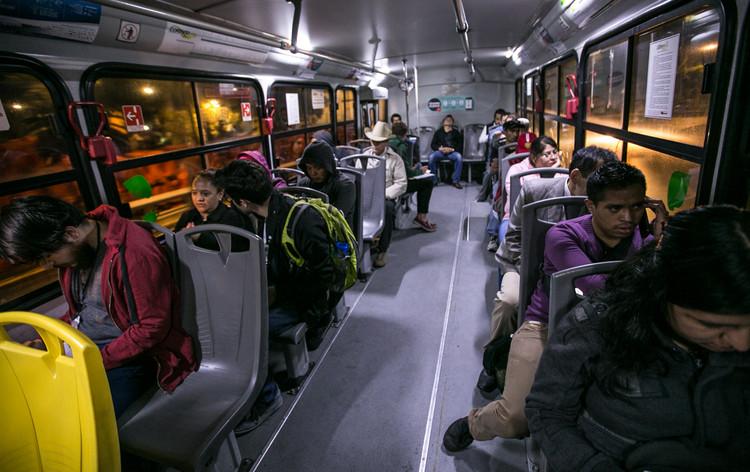 La Ciudad de México implementa sistema de transporte nocturno: Nochebús Insurgentes, Cortesía de Laboratorio para la Ciudad