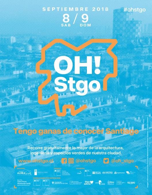 Open House Santiago inaugura su segunda edición: una invitación para recorrer y redescubrir la arquitectura de la ciudad, Cortesía de Open House Santiago