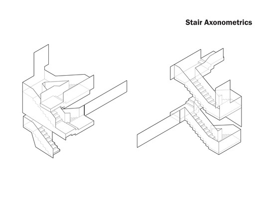 Stair Axonometric